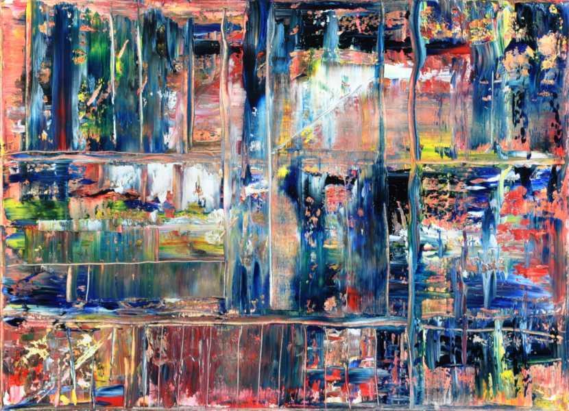 Karneval in der Regentonne, Gemälde
